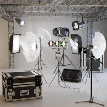 3d photo studio set up