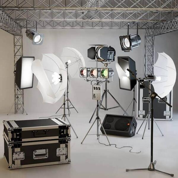 3d product photography studio