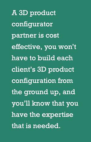 Getting a 3d configurator partner