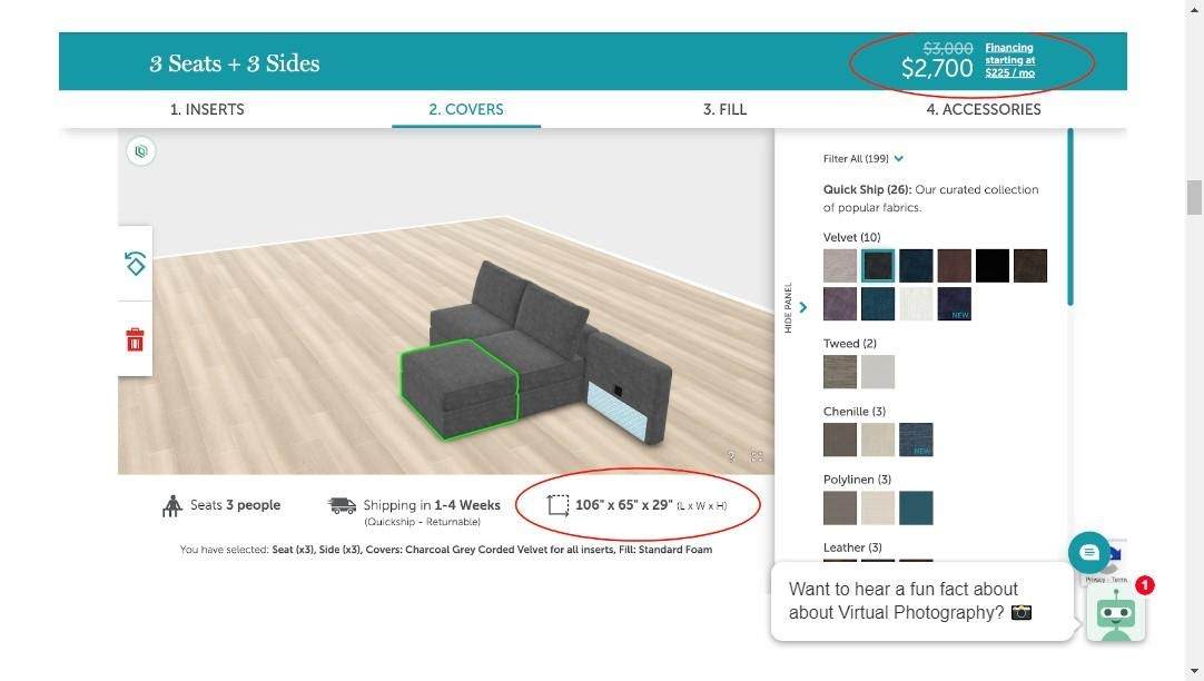 Lovesac The Ultimate Magento Product Configurator-1