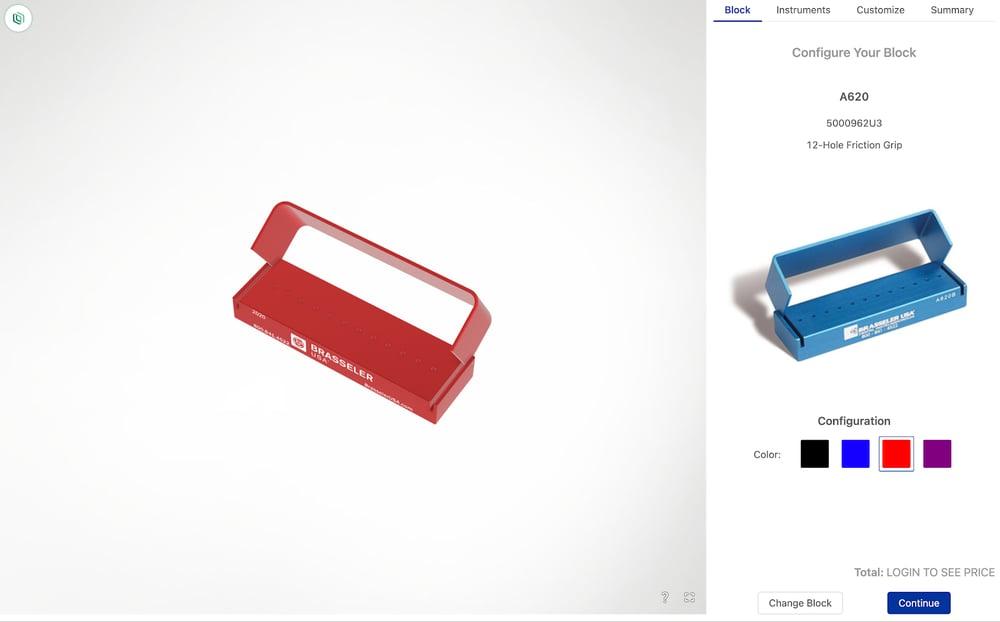 brassler dental kit customizer