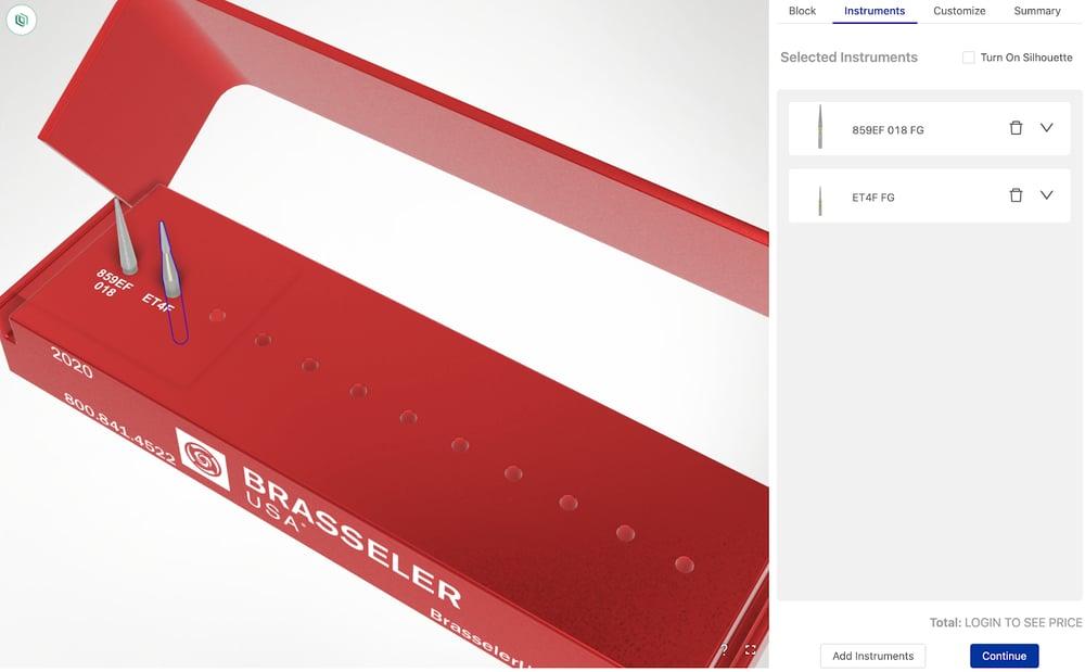 brasseler dental kit customizer
