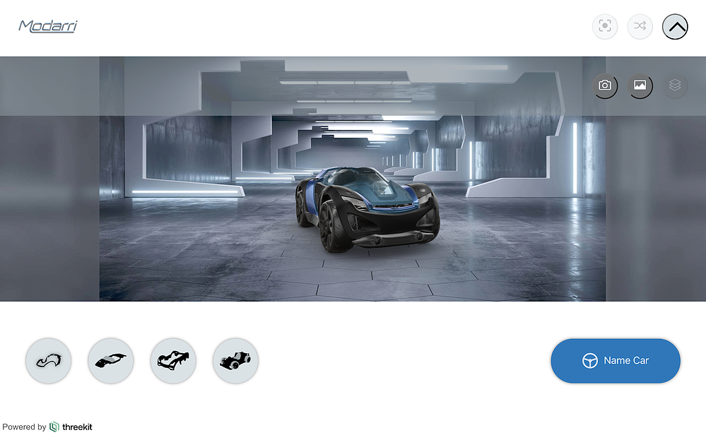 Modarri car customizer