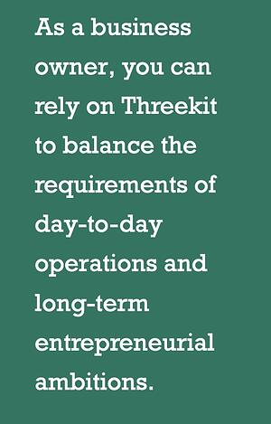 How threekit benefits small business owners