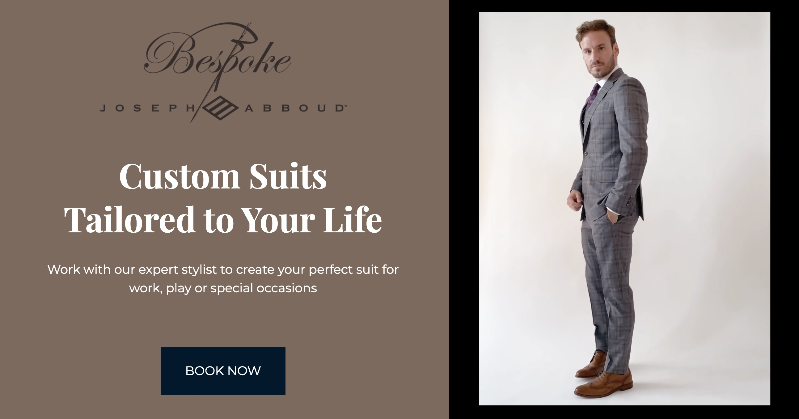 Joseph Abboud custom suits