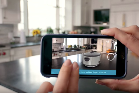 3D and AR Product Visualization for Kitchen and Bath