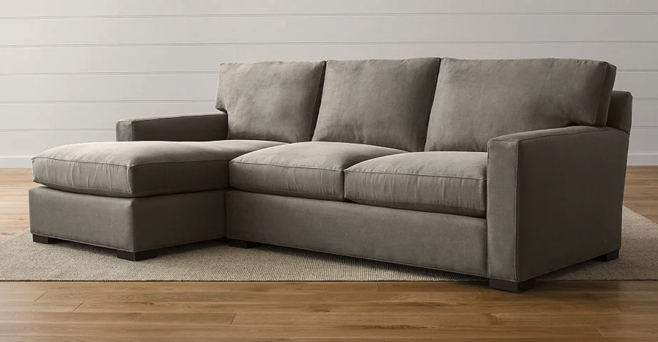 3D rendered sectional couch