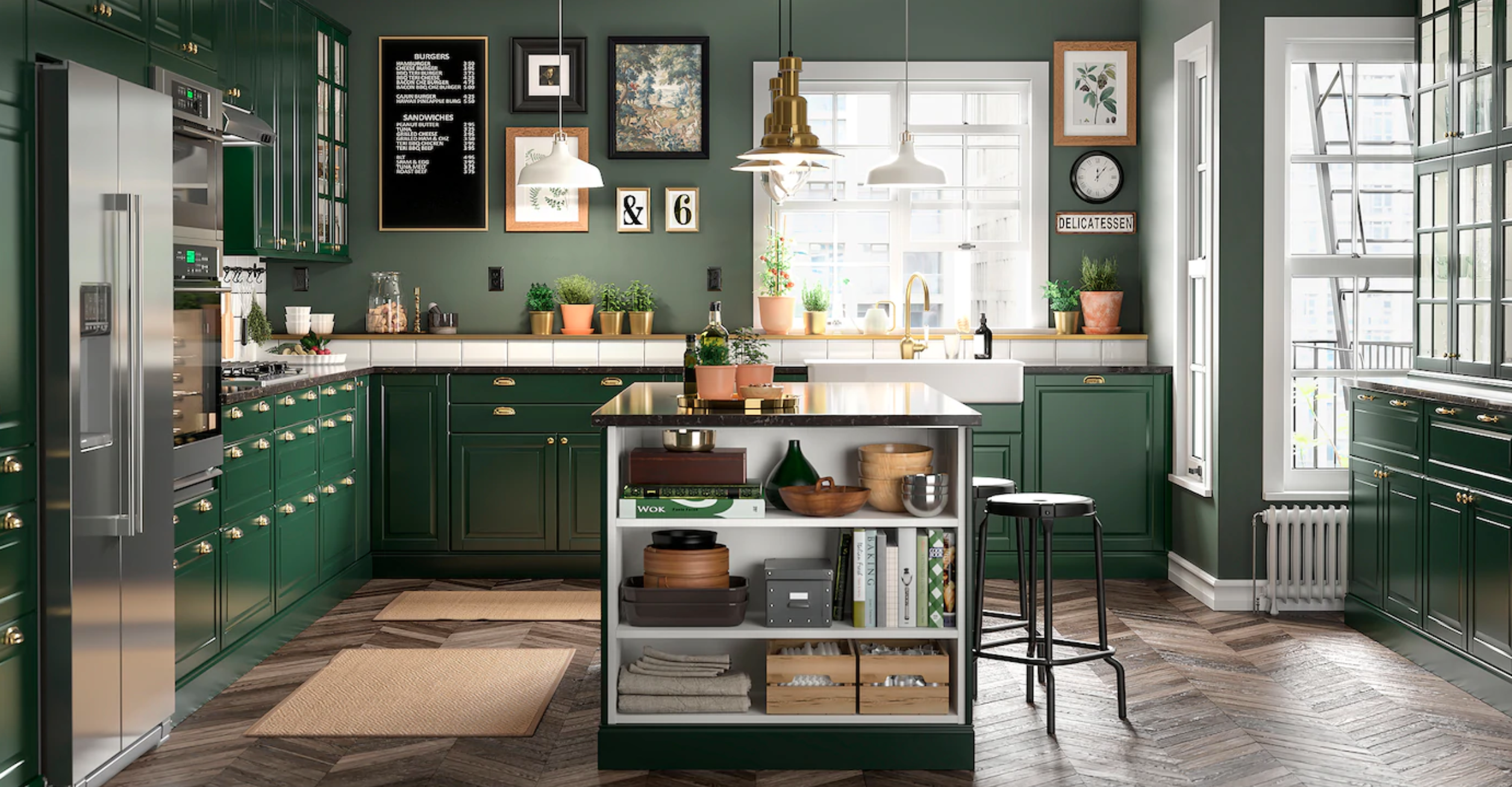 IKEA kitchen image taken with 3D product photography