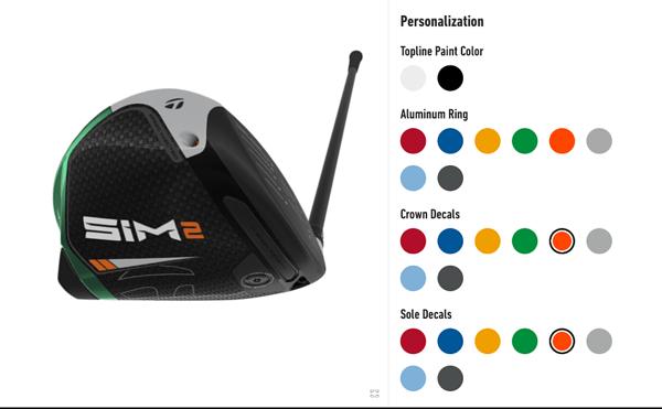 golf club configurator