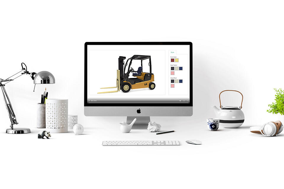 manufacturing 3d product configurator