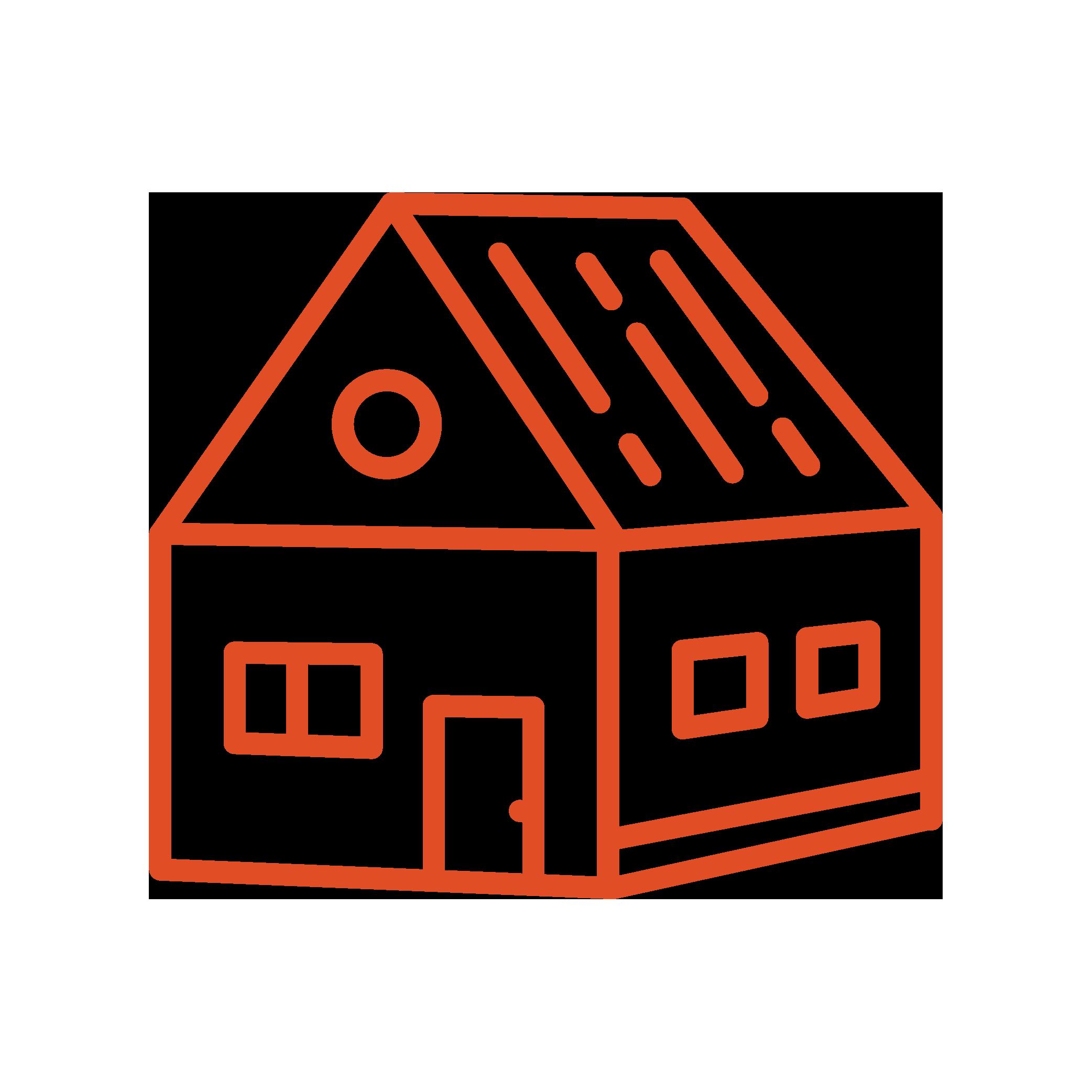 Neon-Line_3D-House
