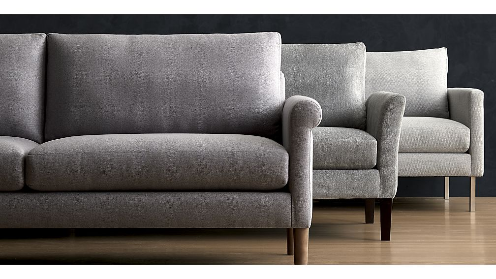 crate and barrell sofas