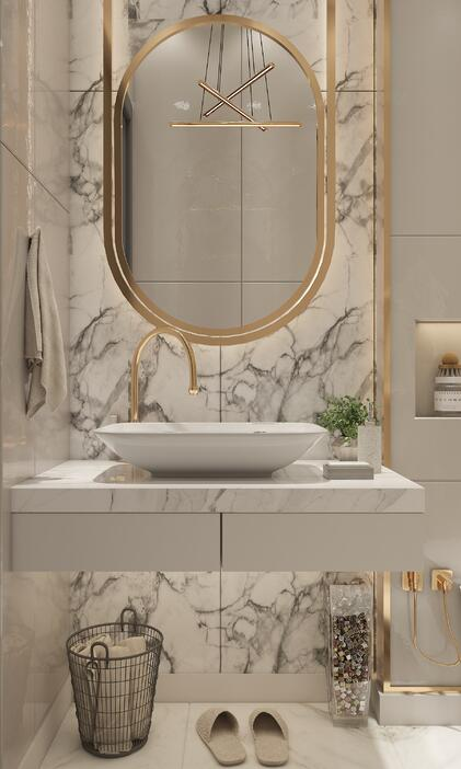 3d visualization for bathrooms