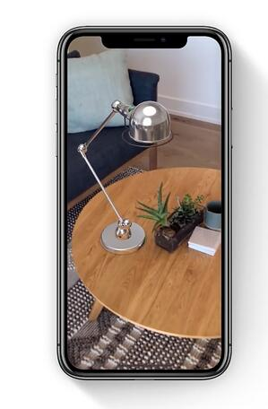 augmented reality for lamp