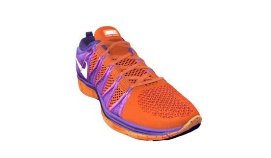 3D Nike shoes customized image