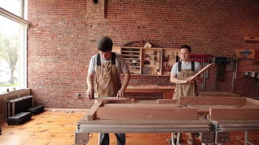 furniture manufacturer making desk