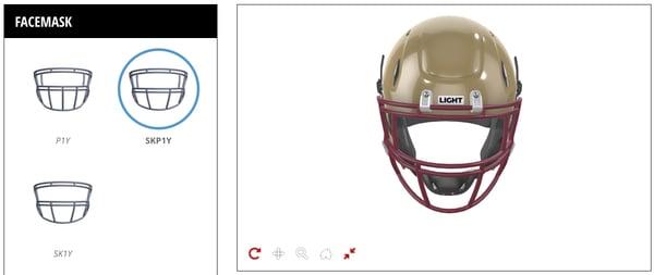 helmet customizer