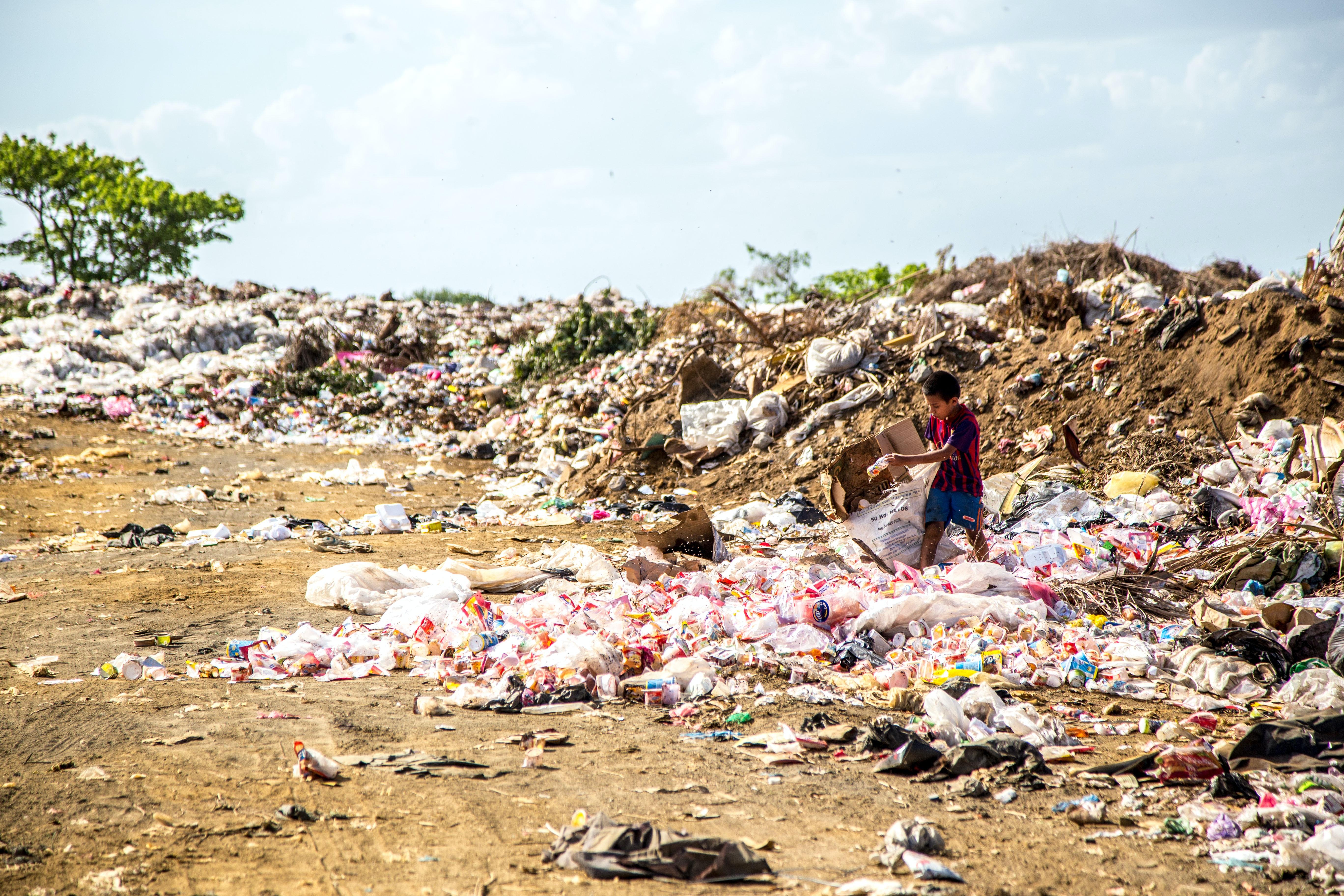 garbage islands