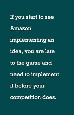 how to beat amazon