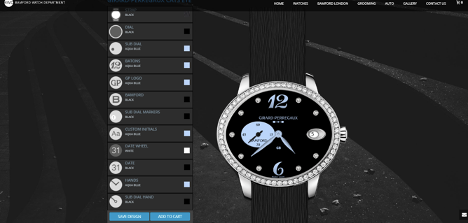 bamford watch configurator