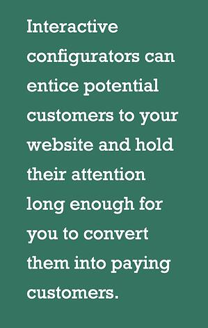 interactive configuration holds your customers attention