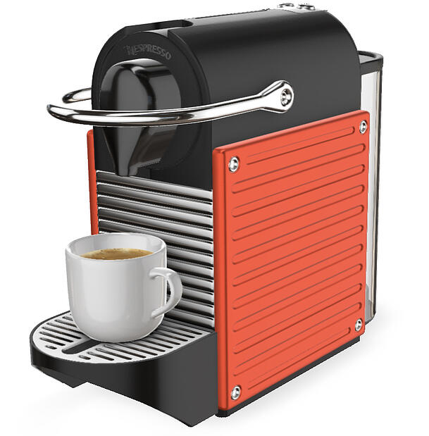 3D Espresso coffee machine