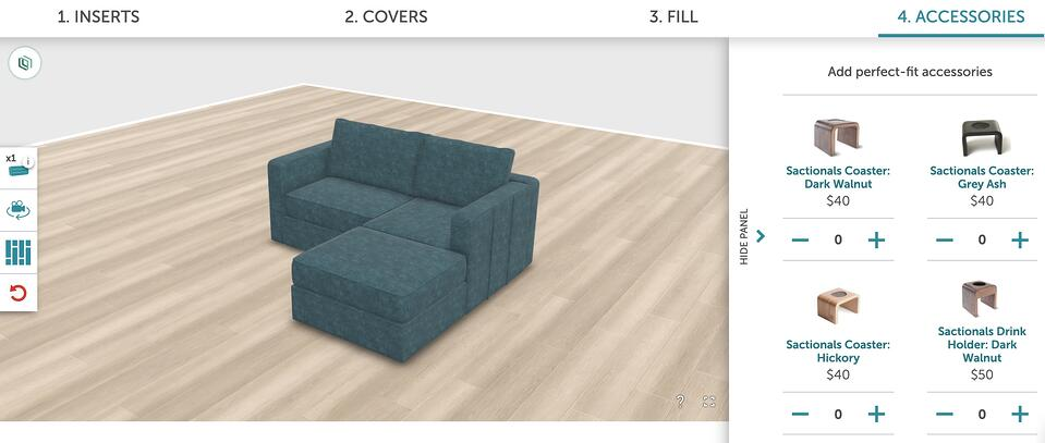 online couch configurator
