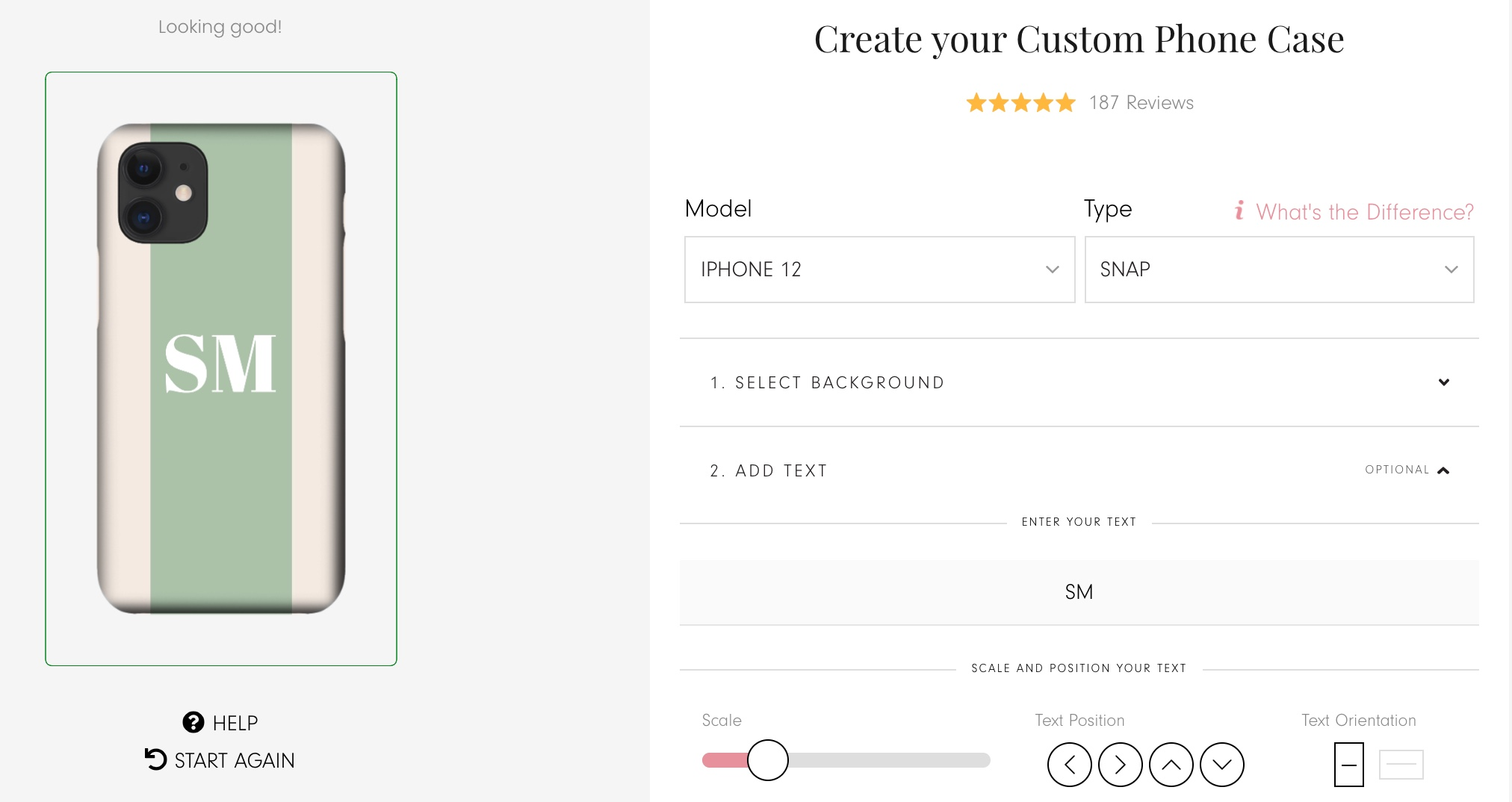 phone customizer for ecommerce