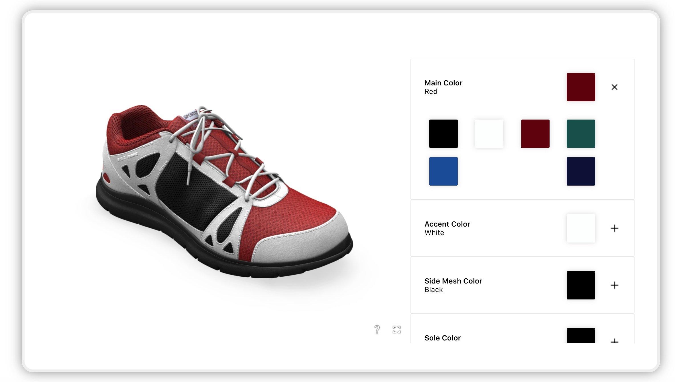 shoe customizer
