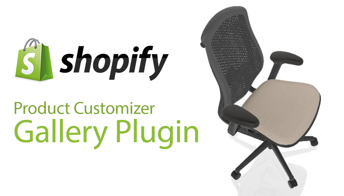 Shopify Gallery Plugin for Threekit integration showcasing chair image