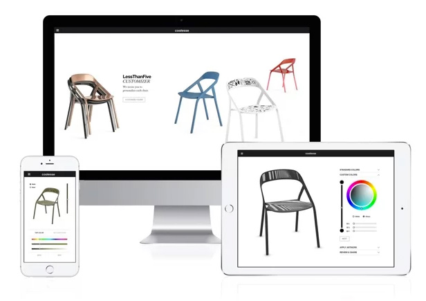 3D configurator for chairs