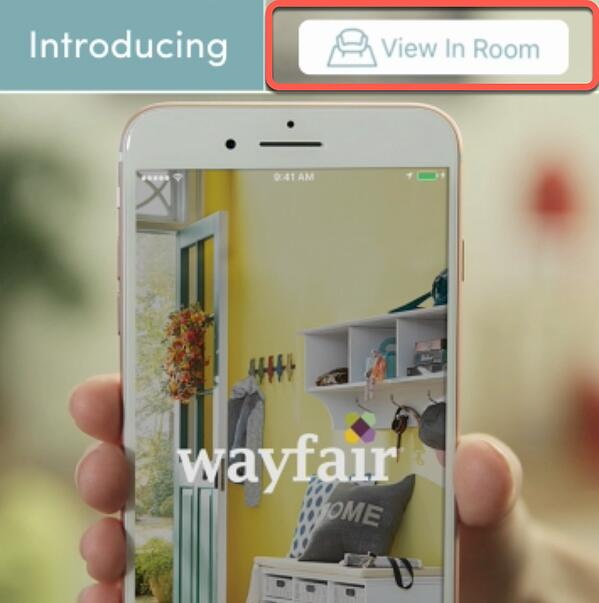 wayfair view in room augmented reality feature-1