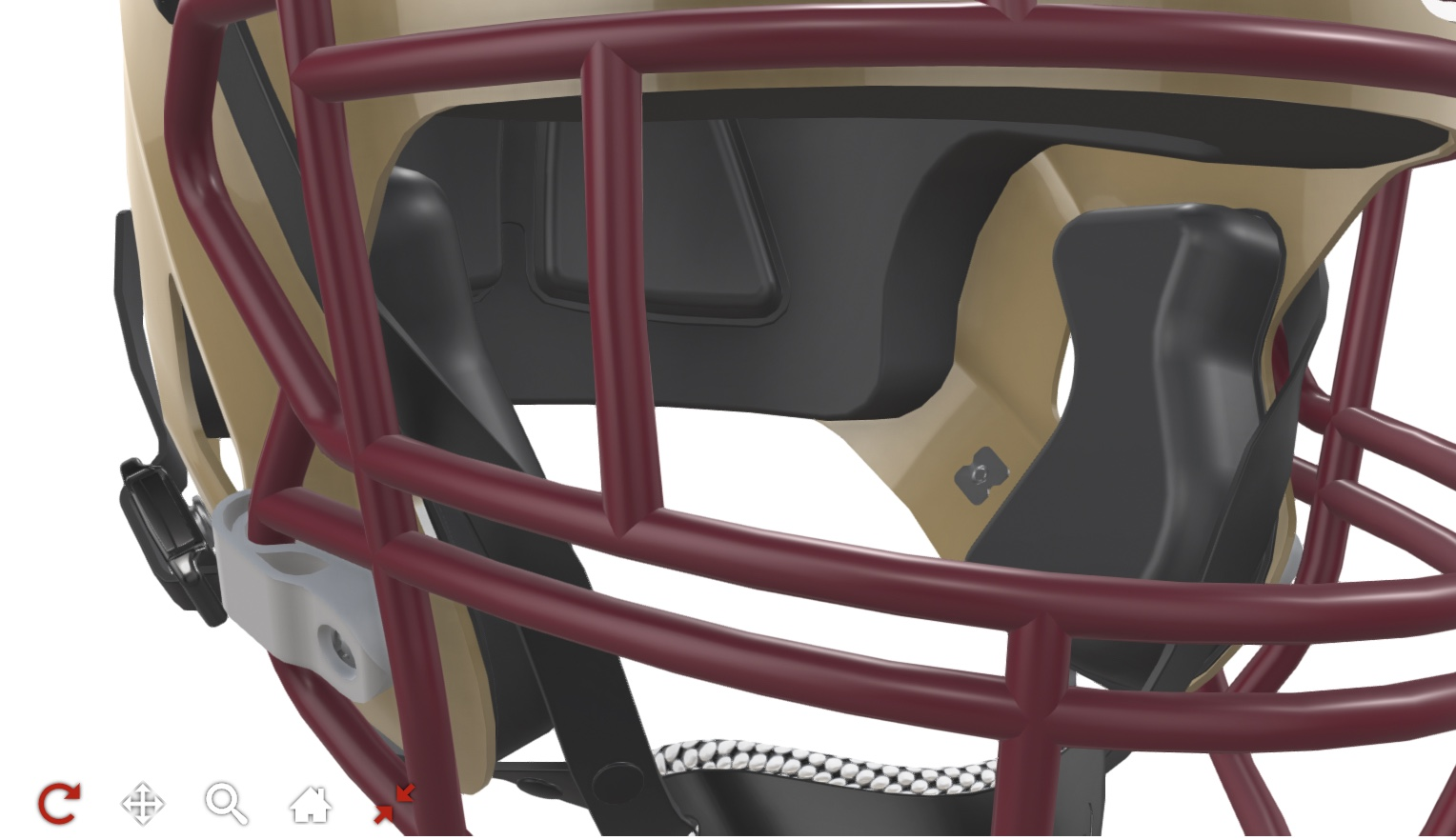 zoom in feature on helmet configurator