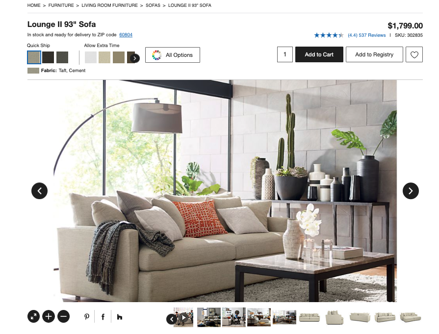 Prevent Ecommerce Returns with Product Images