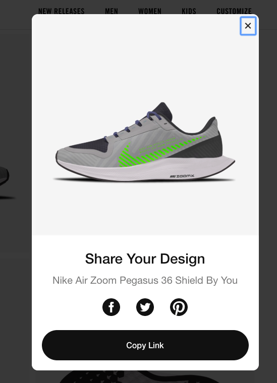Share your design - Nike Air Zoom
