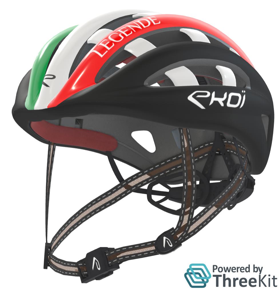 Cycling Helmet Ekoi w-Logo