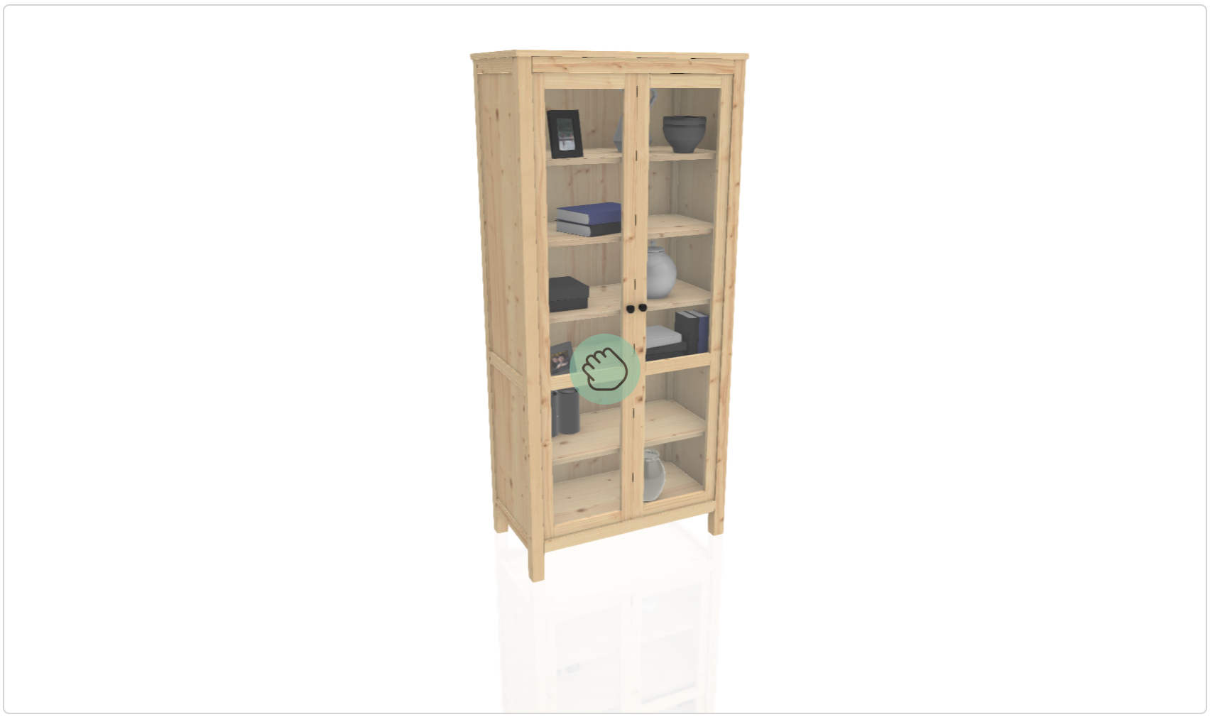 Ikea Cabinet and Bookshelf