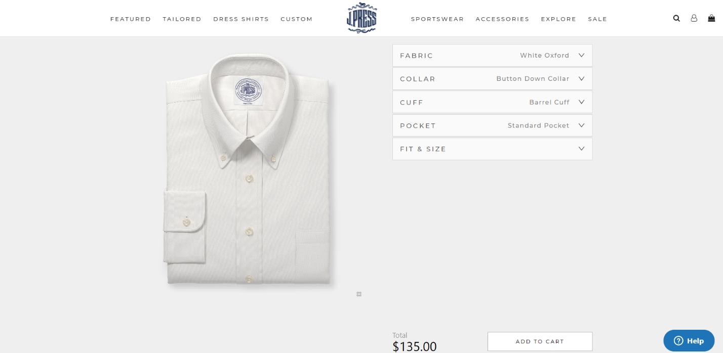 digital shirt customizer