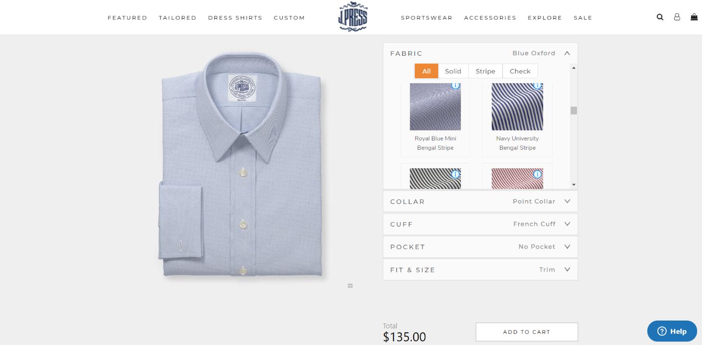 digital shirt custmizer