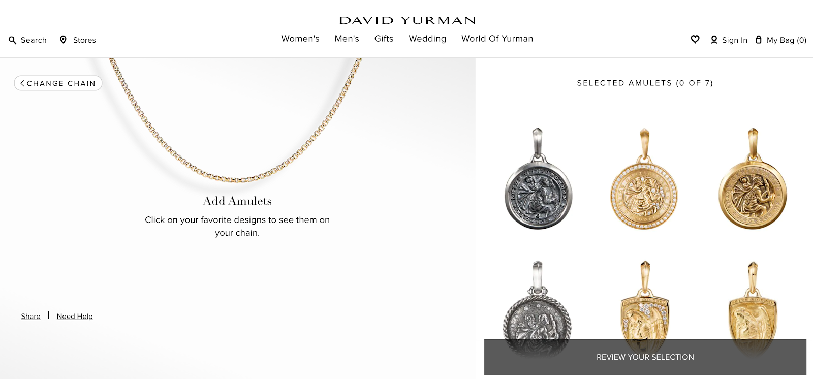 David Yurman jewelrly