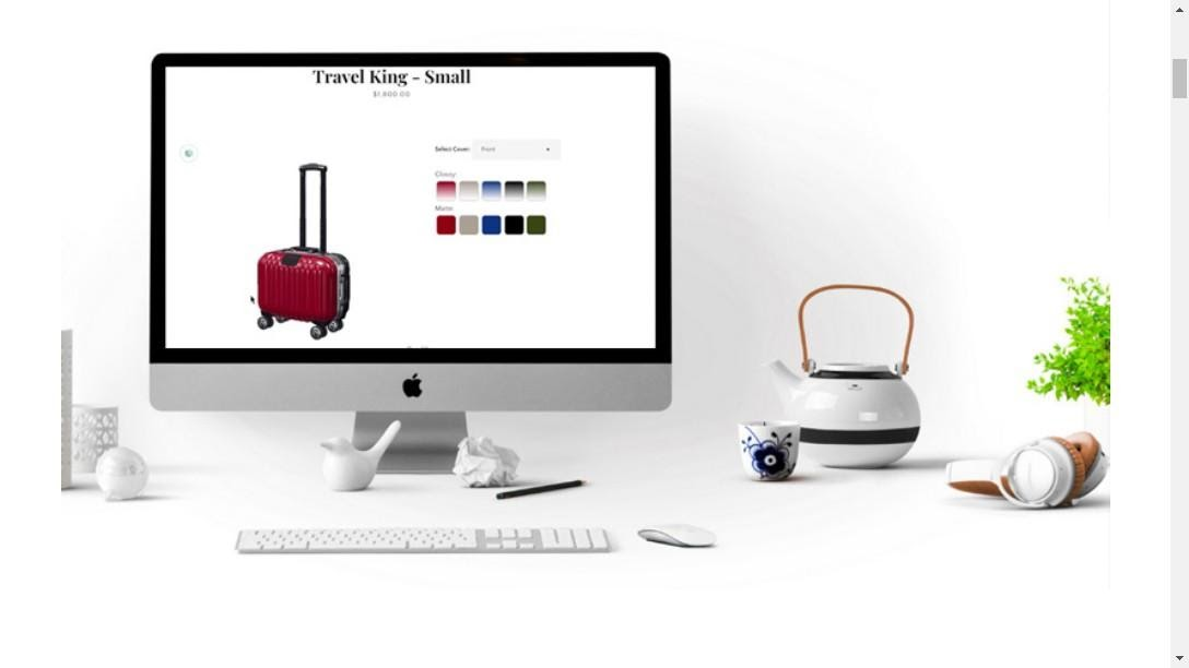 salesforce cpq configurator luggage