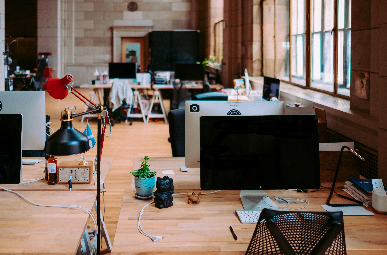 Tech startup office