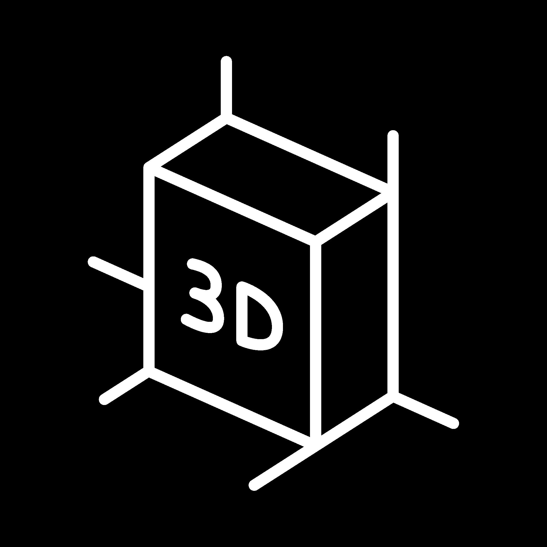 White-Line_3D-Rendering