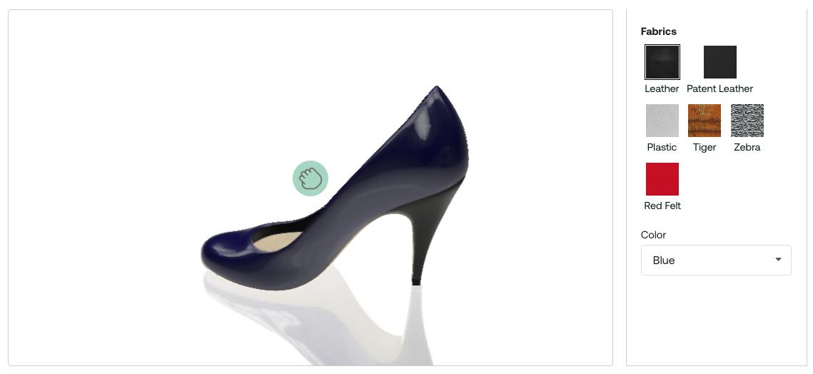 custom high heel