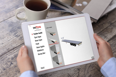 truck online product configurator